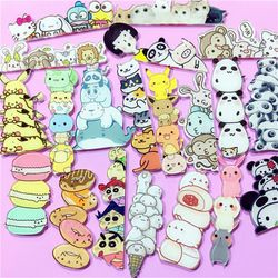 1 unids icono Harajuku stacked animal Pikachu acrílico Broches ropa badge decorativo Rozet collar bufanda lapel Pasadores Accesorios