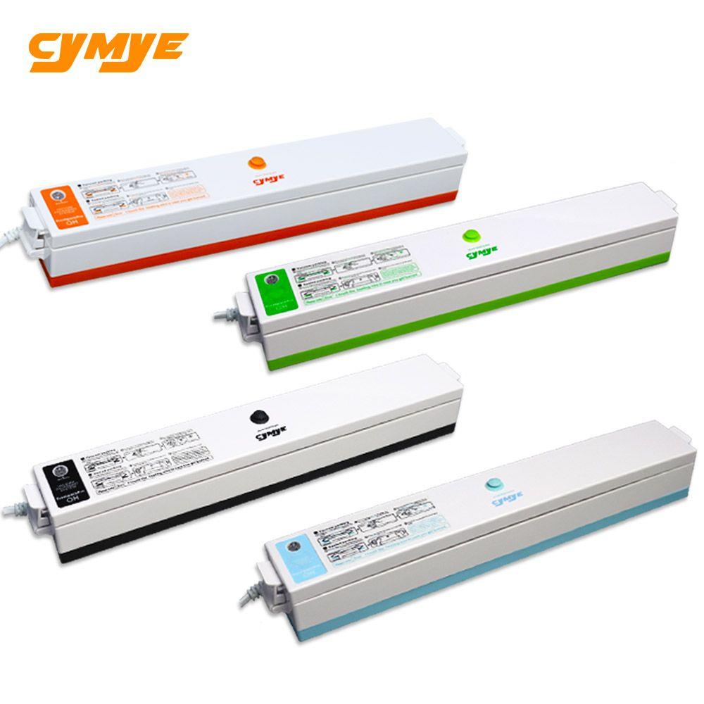 Cymye Alimentaire Emballage Emballage Sous Vide Machine 220 v y compris 15 pcs sac Vide Packer peut être utiliser pour food saver