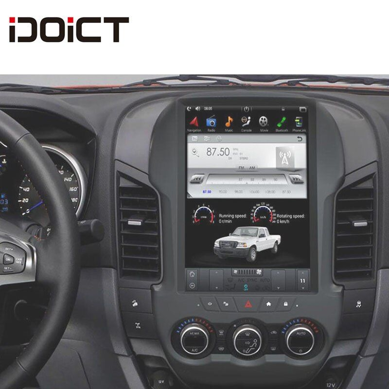 IDOICT TESLA Android 6.0 2g + 32g Auto DVD Player GPS Navigation Multimedia Für Ford ranger F250 Radio 2011 -2016