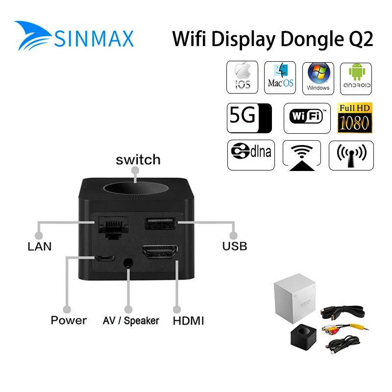 2018 Новый ~ ТВ-карты mirascreen G2/L7/Q2/x6l для Google chromecast 2 хромированные Литые Поддержка HDMI miracast HD ТВ Дисплей ключ