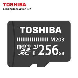 Карта памяти Toshiba 128 Гб 64 Гб 256 ГБ SDXC макс до 100 МБ/с. микро SD карты SDHC-I 32 GB 16G U1 Class10 официальное подтверждение