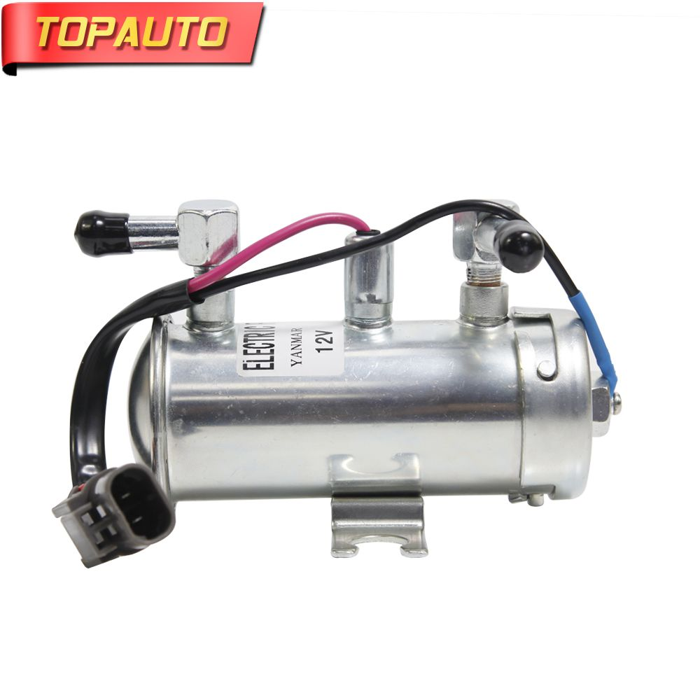 TopAuto 12v 24v Electronic Pump Oil Fuel Pump Diesel Oil Engine for Modification Excavator For Cars Truck Caravan
