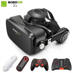BOBOVR Z4 mini VR Boîte 2.0 lunettes 3d lunettes de Réalité Virtuelle Google carton bobo vr z4 vr casque pour 4.3-6.0 pouce smartphones