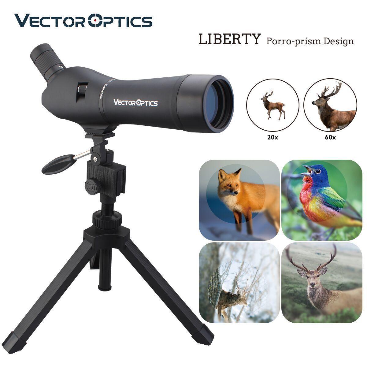 Vector Optics Liberty 20-60x60 Hunting Telescope Spotting Scope