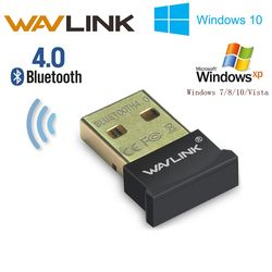 Wavlink Mini Sans Fil USB Bluetooth 4.0 CSR4.0 Adaptateur Dongle Nano Wavlink Portable pour PC Portable Tablet Headser Gagner 10 XP Vista