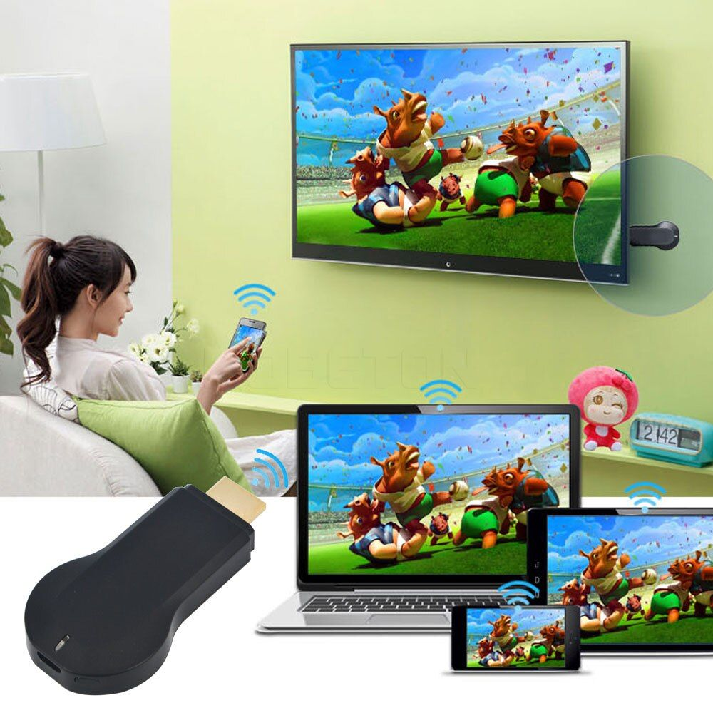 M2 For MiraScreen TV Stick Dongle EasyCast HDMI WiFi Display Receiver adpter DLNA Airplay Miracast Chromecast EZCast For window