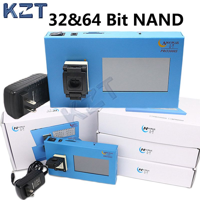 navi pro3000 32 64 bit nand IC chip programmer iPhone 4 to 6P iPad Tool Fix Repair Motherboard HDD Chip Serial Number SN Model