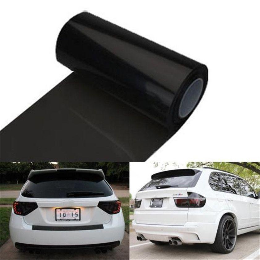 High Quality car tinting  car-styling  Auto Car Tint Headlight Taillight Fog Light Vinyl Smoke Film 12inch x 48inch