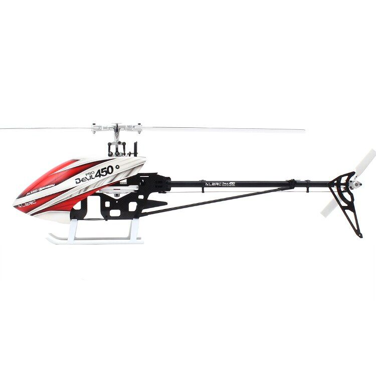 ALZRC - Devil 450 Pro V2 FBL KIT 450 RC Helicopter - Silver (Include Canopy &collocation carbon fibre 325mm paddle)