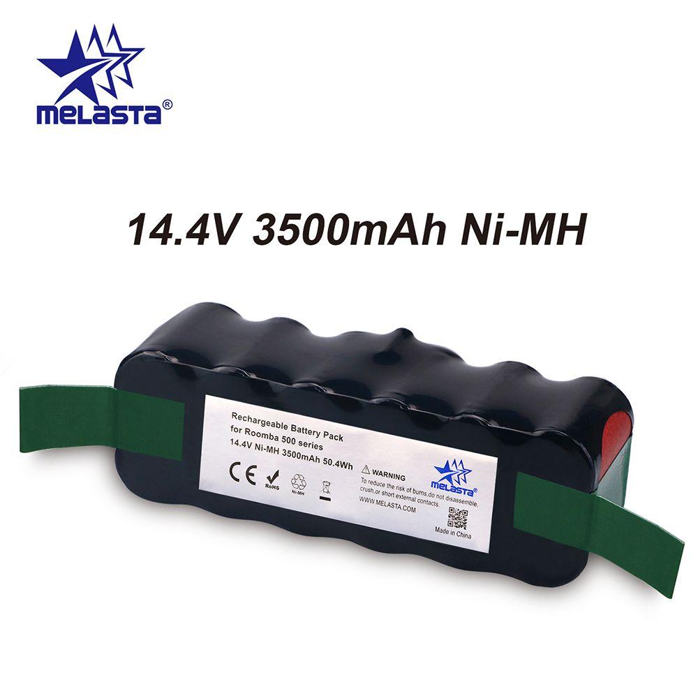 Mis à jour Capacité 3.5Ah 14.4 V NIMH batterie pour iRobot Roomba 500 600 700 800 Série 510 530 550 560 620 650 770 780 870 880 R3