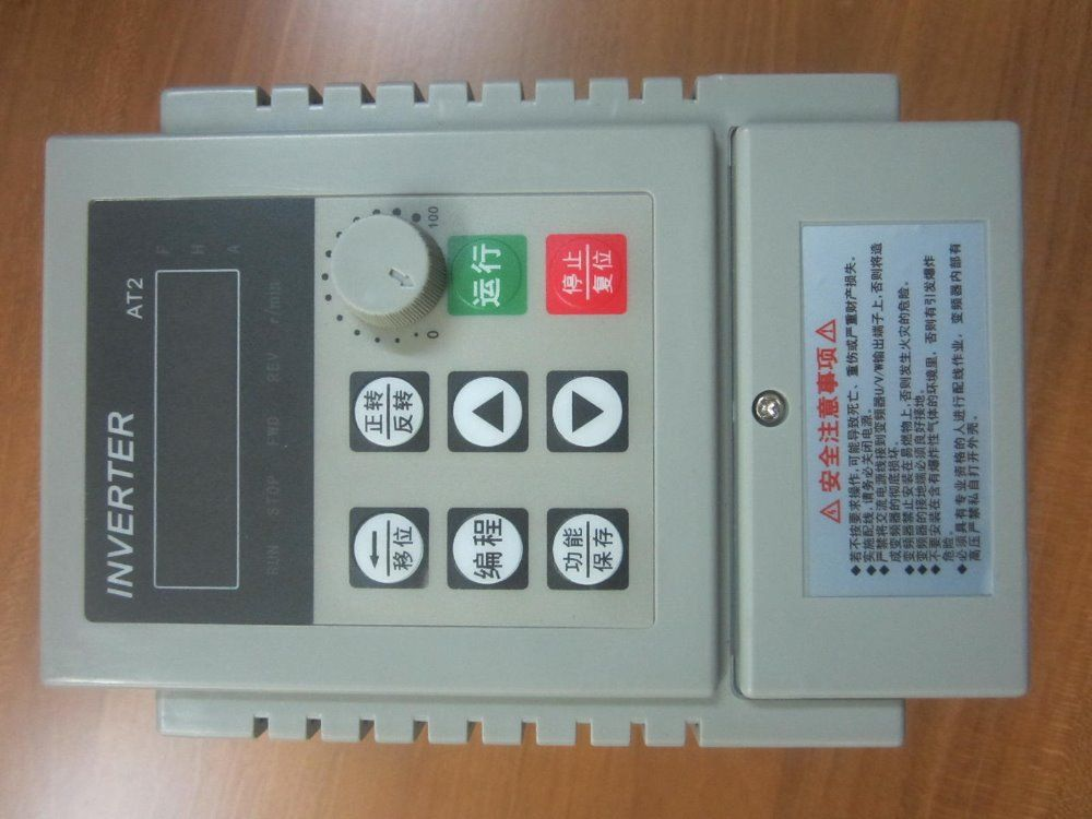 VFD single phase 220V in and single phase out ZW-AT2 frequency converter 750W 0.75KW 5A Drive single phase moto speed