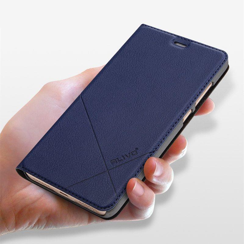 ALIVO Brand For Xiaomi Redmi Note 4X 3gb 32gb Case Leather Flip Protector Cover Redmi Note 4X Prime Pro 4gb 64gb Phone Bag Cases