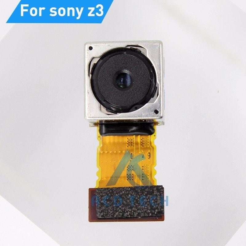 Dot Me Arrière Principal Retour Caméra Pour Sony Xperia Z3 D6603 D6653 D6633 Double Grand Caméra Flex Câble Pièces De Rechange