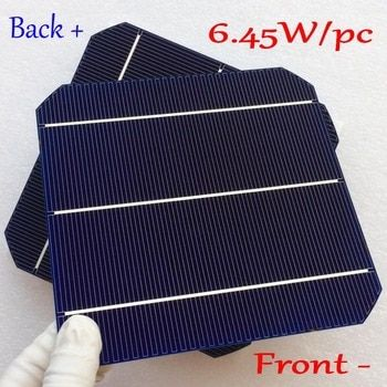 Newest Double-side Mono Solar Panel Cell-4BB Mono solar cell with enough PV Ribbon solar cell wire- Sunpower flexible solar cell