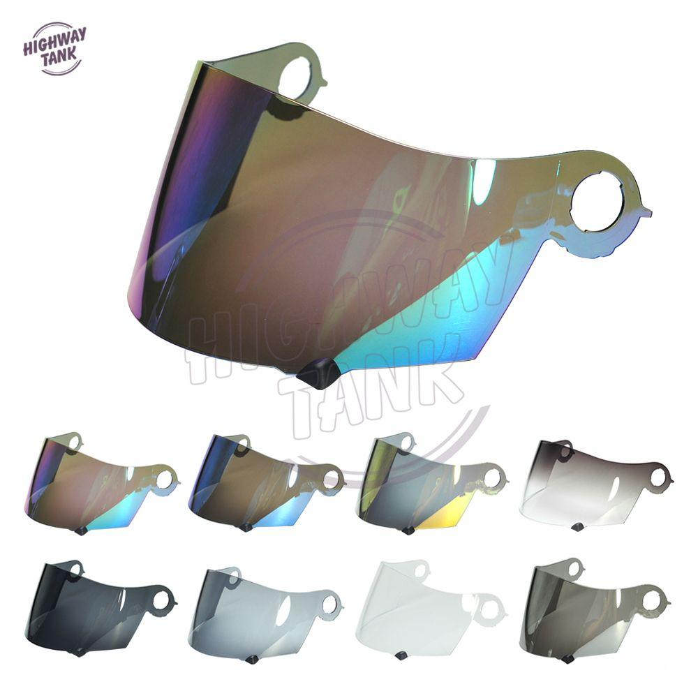 8 Couleurs Moto Visière de Casque Intégral Bouclier Cas pour SUOMY Spec 1R Spec-1R Extrême Apex W/Or Iridium Bleu Smoke Lens
