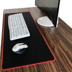 Чистый черный большой игровой коврик для мыши красочный Коврик для мыши Коврик для клавиатуры Настольный коврик для ноутбука геймер Коврик...