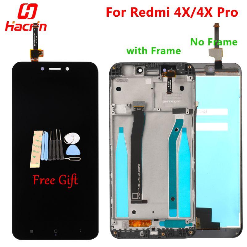 Xiaomi Redmi 4X LCD Affichage Écran Tactile Bon Test Digitizer Assemblée Remplacement Pour Xiaomi Redmi 4X Pro Premier 5.0 pouces