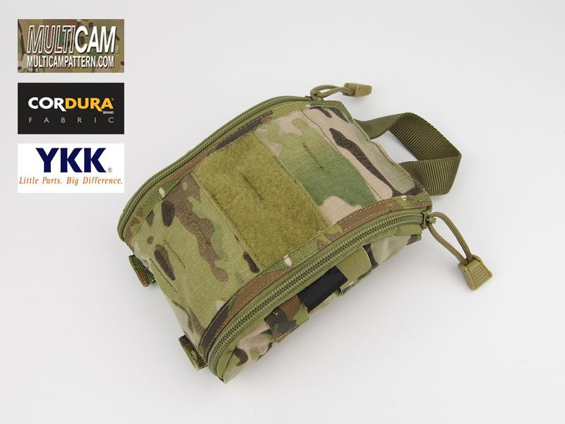 Trauma Kit Pouch Cordura Multicam Medic Bag MOLLE Tactical Medical Pouch+Free shipping(XTC050705)