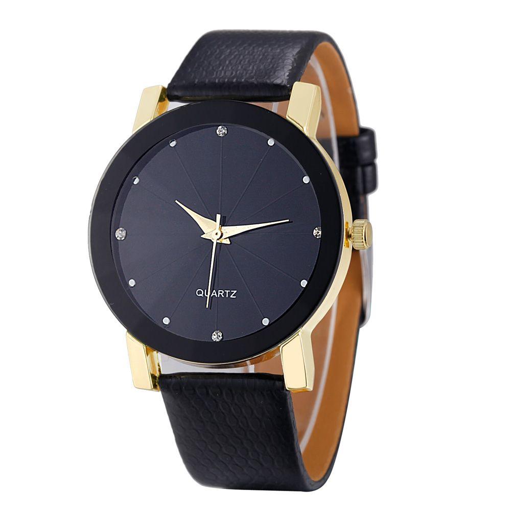 men designer watches luxury watch 2016 Quartz Sport Military Stainless Steel Dial Leather Band Wrist Watch Men Top brand relojes