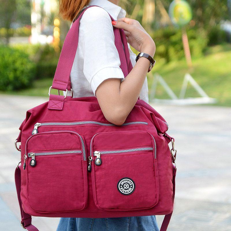 Marques de mode femmes imperméable en nylon sac à bandoulière grande capacité sac de haute qualité sac à main femmes fourre-tout sacs de messager