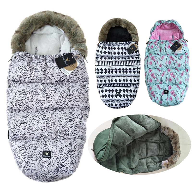 Elodie Details Baby Sleeping Bag Winter Warm Stroller Sleepsacks Robe For Infant wheelchair envelopes for newborns dropship