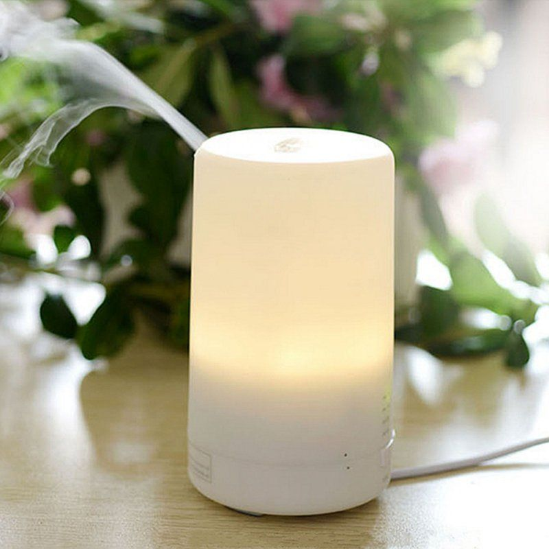 Aromatherapy Protecting Air Humidifier Dry Electric Fragrance Diffuser 3 in1 LED <font><b>Night</b></font> Light USB Essential Oil Ultrasonic