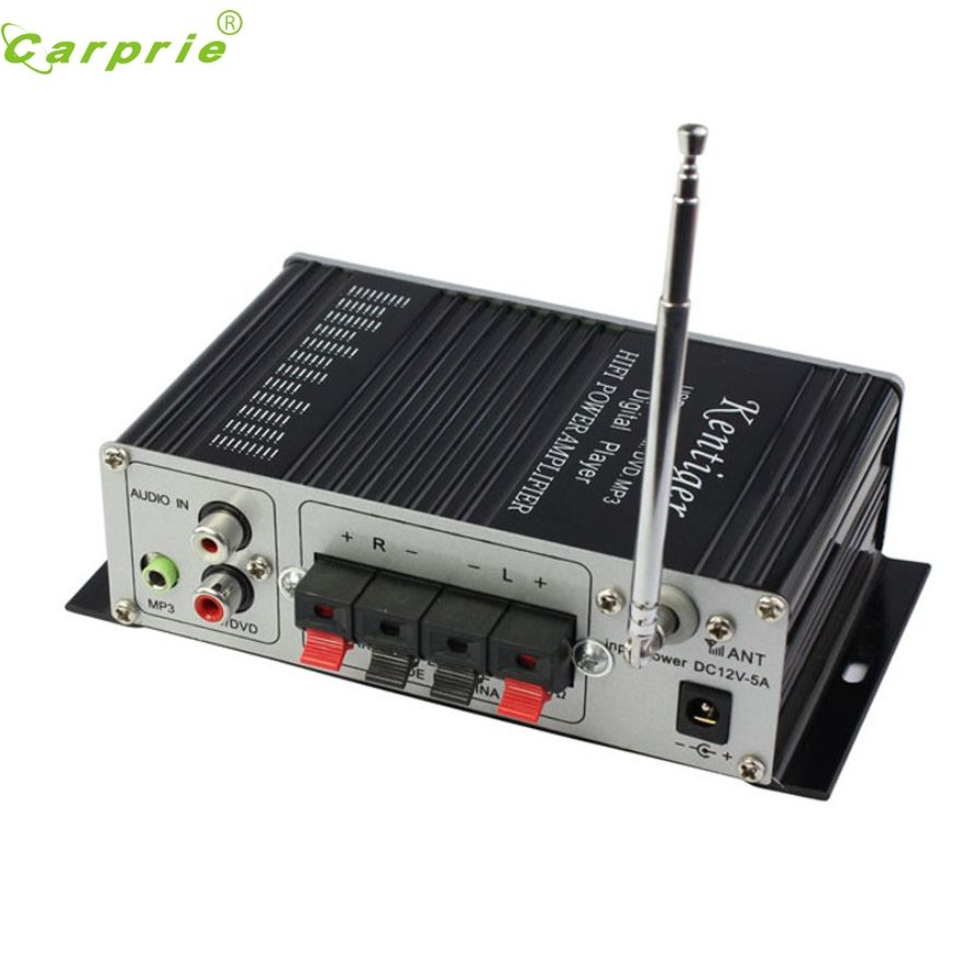 New Arrival 2CH 200W Power Mini HiFi Audio Stereo AMP Amplifier For ipod Car Home MP3 FM BL