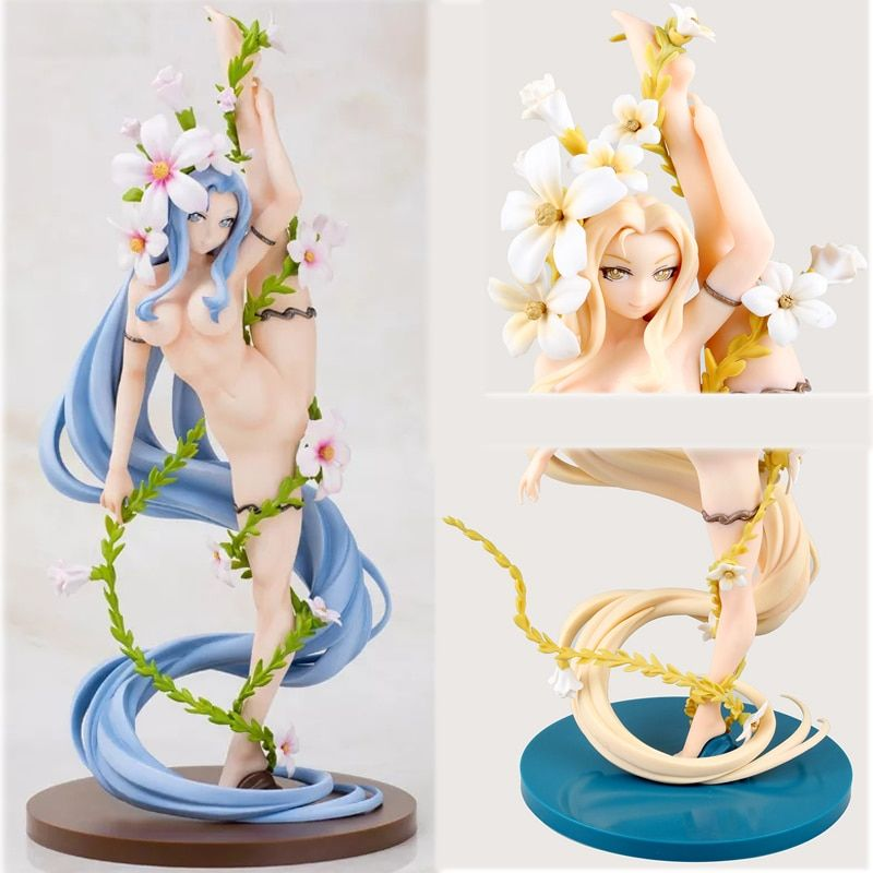 Daiki blue Flower Fairy 32cm Hana no Yousei-san Maria Bernard japanese sexy Anime PVC Action Figure Toys Model Collection