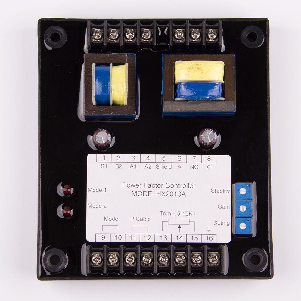 AVR HX2010A AC Pararrel Power Factor Controller Regler Saver Elektrische Generator Teile Zubehör Anti Überlast korrektur