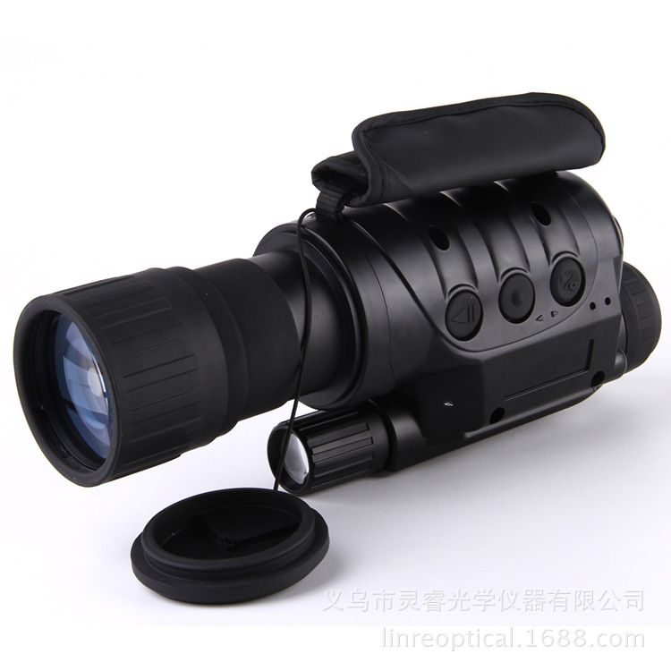 6x50 Magnification HD Digital IR Infrared Night Vision Monocular Spotting Scope Space Astronomical Telescope Camera Camcorder
