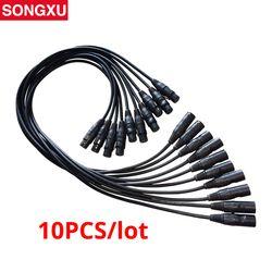 1 Mètre longueur 3-pin dmx dans et hors Connexion de signal DMX CÂBLE 3.5ft XLR pour Étape Moving Tête Brumisateur 10 pcs/lot/SX-AC008