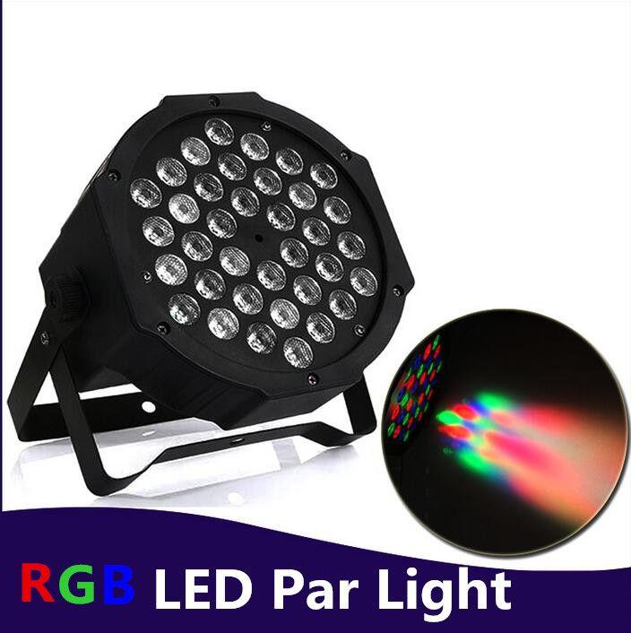 RGB/UV Stage Light 36 LEDS Par Light Disco DJ Lighting dmx led par Club Party light Strobe AC110-240V