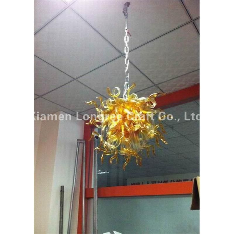 New Style Home Lamp Designer Led Light Dale Chihully Style Hand Blown Glass Art Chandelier Light
