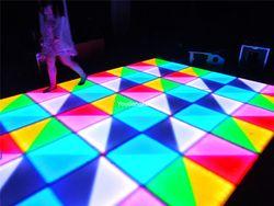 الشحن مجانا 432 قطع * 5 ملليمتر ليلة نادي الرقص أضواء rgb dmx مرحلة زفاف للماء led الرقص الطابق الأرضيات