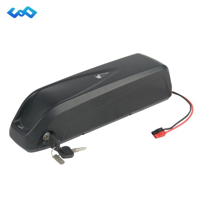 US EU Free Tax Powerful Hailong 48V 13Ah E-Bike Lithium ion Battery 48V 1000W Electric Bike Shark Li-ion Battery