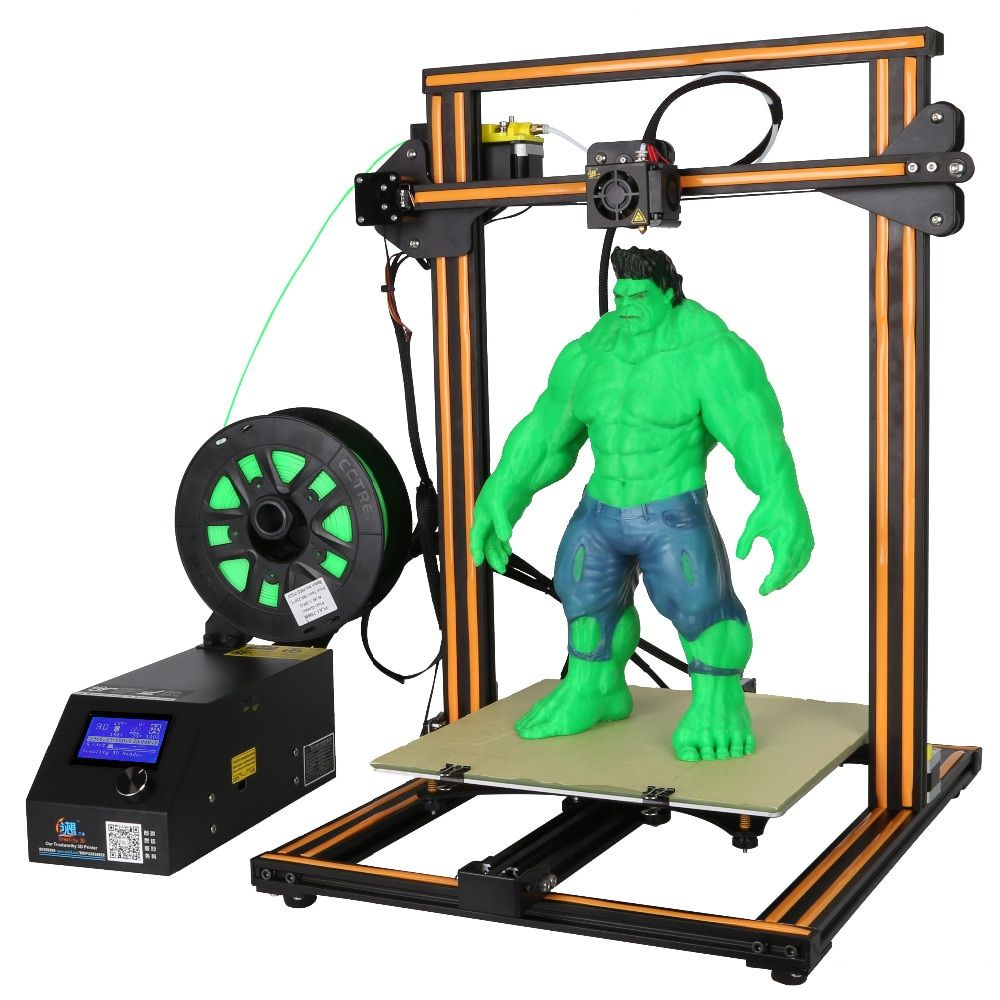 CR-10s 3D Imprimante Double Tige, Grande taille d'impression, Filament de Surveillance D'alarme, panne de courant prusa I3 imprimante 3D DIY KIT Creality 3D