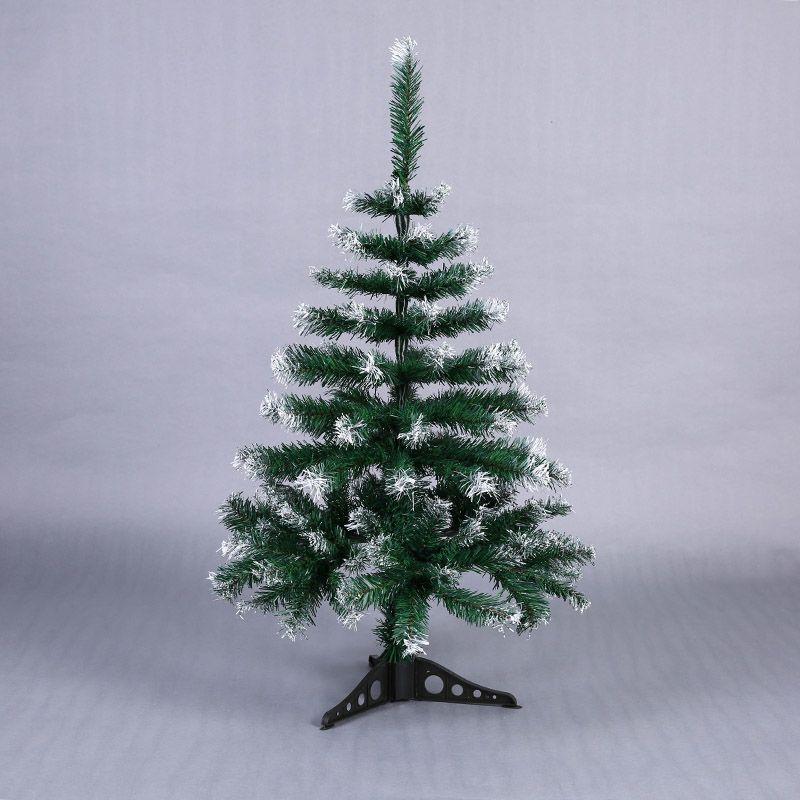 90cm Artificial Flowser Christmas Tree Snowflake Xmas Plastic Tree New Year Home Ornaments Desktop Decorations Christmas Tree