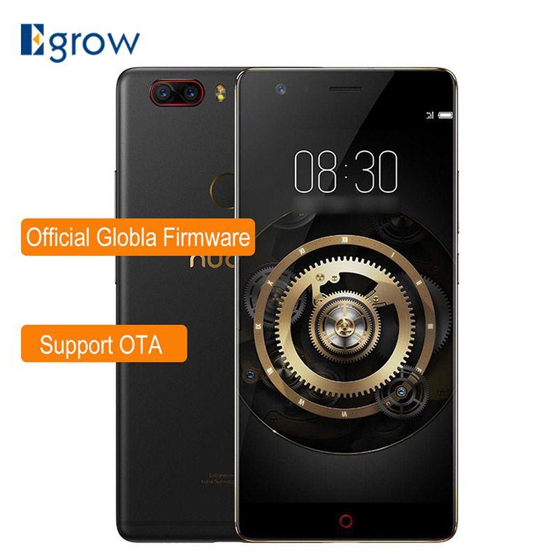 Nubia Z17 Lite 5.5 Inch Bezel-Less Snapdragon 653 Octa Core 6GB 64GB 4G LTE Smartphone Dual 13.0MP Rear Camera NFC Mobile Phone