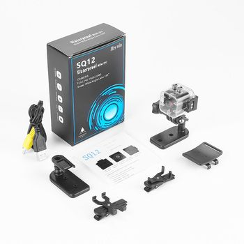 ET SQ12 للماء البسيطة كاميرا HD 1080 وعاء مسجل فيديو الرياضة كاميرا رقمية كشف للرؤية الليلية واسعة الزاوية كاميرا VS SQ11