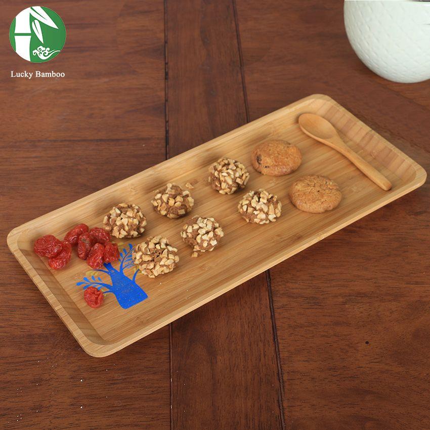 Bois palette fruits gâteau plaques étanche dîner plaques bandeja buffet plats pratos de jantar thé plateau décoratif vintage