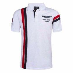 Vente chaude Nouveau 2017 Marque De Mode Hommes Polo chemise Solide Couleur Slim Fit Shirt Hommes Coton polo Chemises Casual Chemises