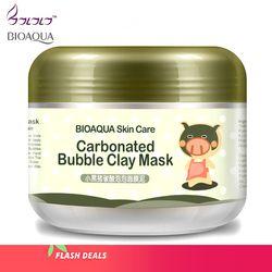 Bioaqua soins de la peau traitement de sommeil masque blanchissant hydratation autocollants nettoyage points noirs remover cosmétiques visage masques anti vieillissement