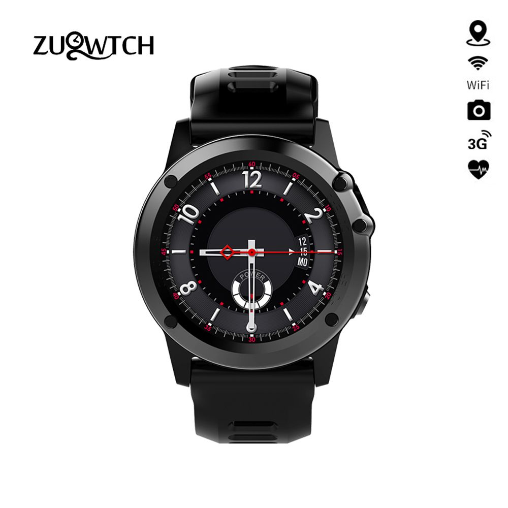 MTK6572 H1 Smart Watch Waterproof IP68 Support 3G Wifi GPS Android SmartWatch Phone Call SIM Camera Bluetooth For IPhone Samsung
