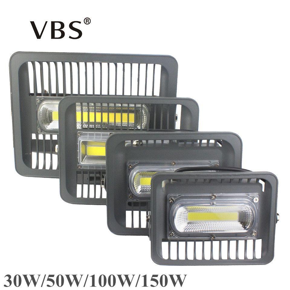 LED Lumière D'inondation 150 W 100 W 50 W 30 W LED Réflecteur 100 W 50 W Lumière D'inondation LED Éclairage Extérieur 220 V 110 V LED Projecteur Extérieur IP66