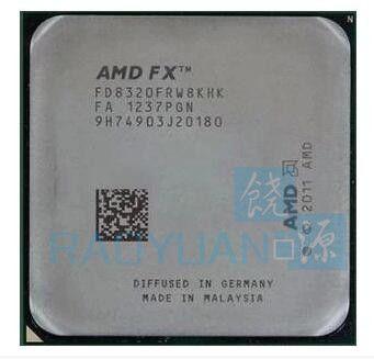 AMD FX-Serie FX-8320 FX8320 FX 8320 3,5 GHz Acht-Core CPU Prozessor FD8320FRW8KHK Sockel AM3 +