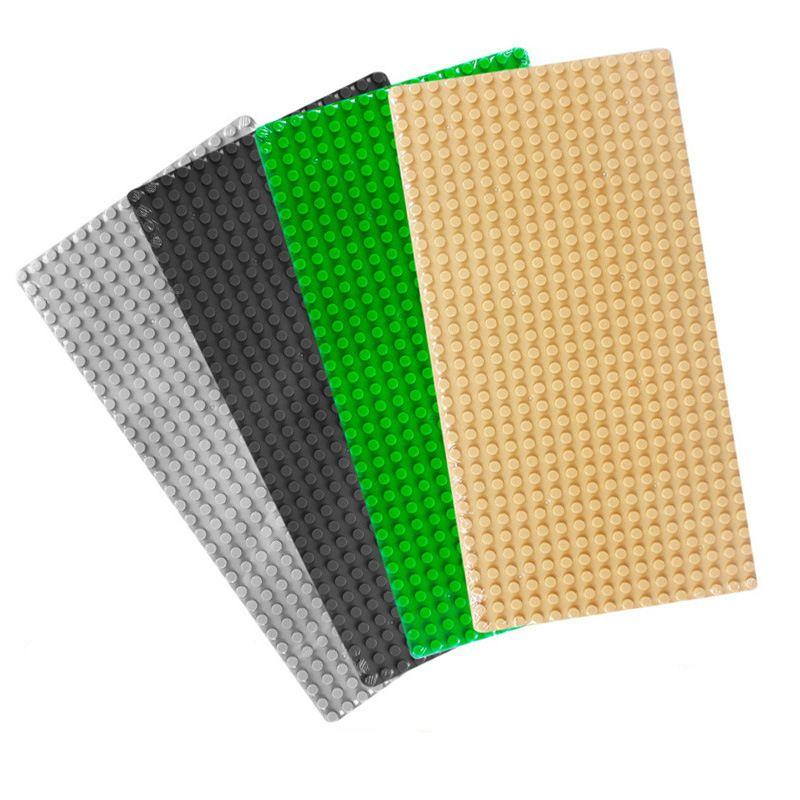 Bausteine Grundplatte für Kleine Ziegel Baseplates 32*16 Punkte DIY Spielzeug Basis Kompatibel mit LG Weihnachtsgeschenk