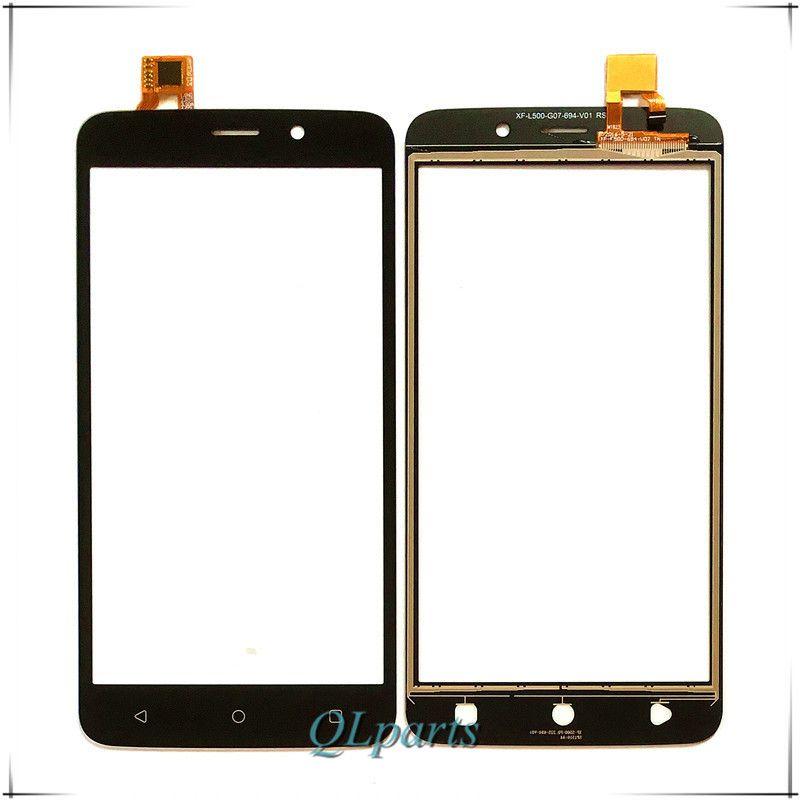 Сиринкс Высокое качество телефон Сенсорный экран планшета для Fly FS509 Нимб 9 Защитное стекло для сенсорного экрана с отверстием для объектива...