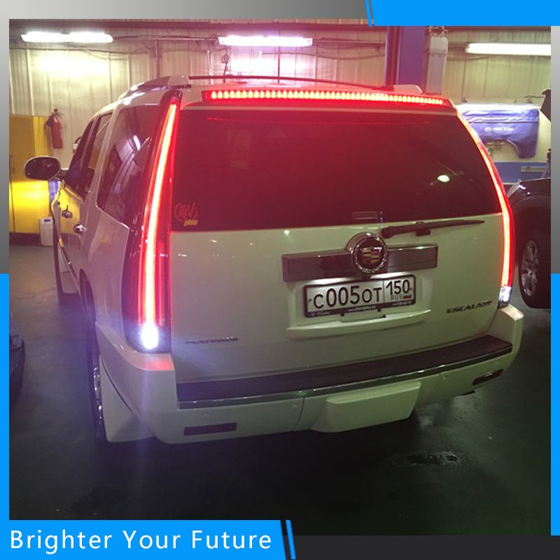 Vland LED Tail Lights For Cadillac Escalade ESV 2007 2008 2009 2010 2011 2012 2013 2014 LED Tail Light Rear Lamp Assembly