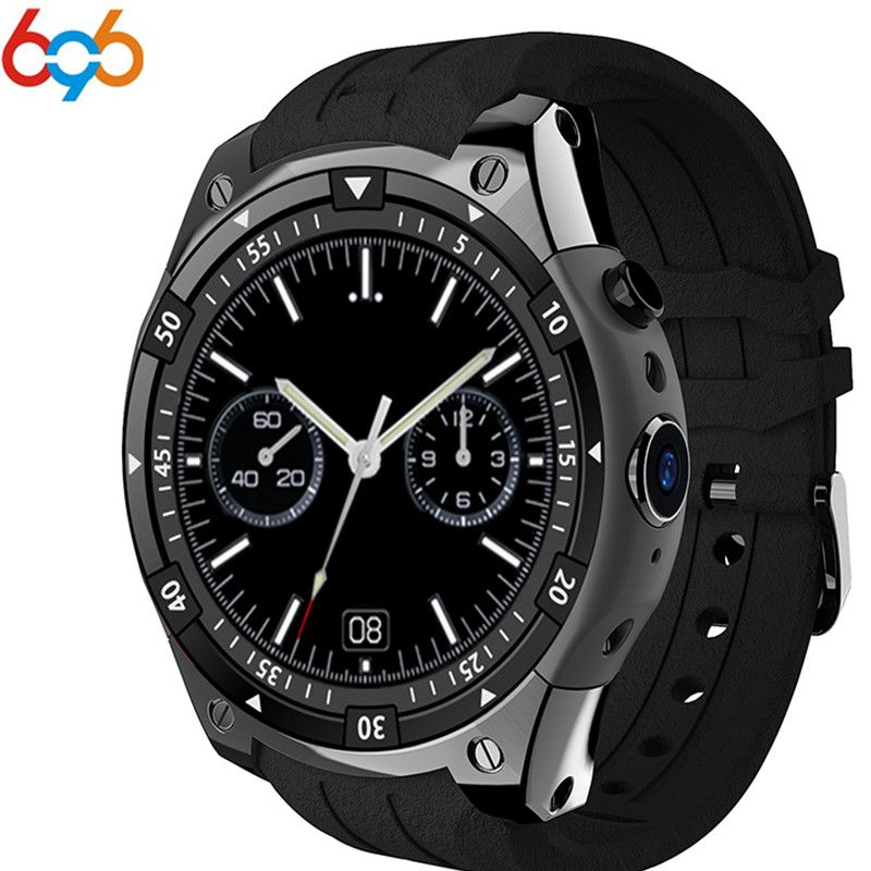 X100 3g Smart Uhr MTK6580 Android 5.1 Dual Core Herz Rate GPS WiFi Smartwatch für IOS & Android Samsung getriebe s3 PK KW88 GW11