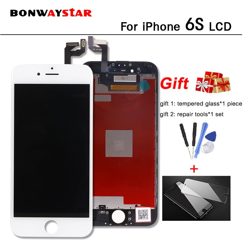 For iPhone 6S 6SPlus LCD Display Digitizer full Assembly Replacement With Best 3D Force Touch Screen touch screen lcd 6 S